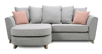 Pateley Pillow Back 4 Seater Lounger