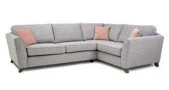 Pateley Formal Back Left Hand Facing 3 Seater Corner Sofa
