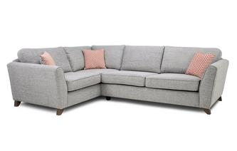 Formal Back Right Hand Facing 3 Seater Corner Sofa Pateley