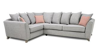 Pateley Pillow Back Right Hand Facing 3 Seater Corner Sofa