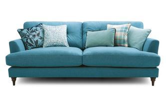 4 Seater Sofa Patterdale Plain