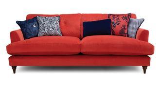 Patterdale Velvet 4 Seater Sofa