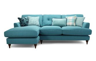 Left Hand Facing Small Chaise Sofa