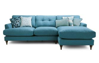 Right Hand Facing Large Chaise Sofa