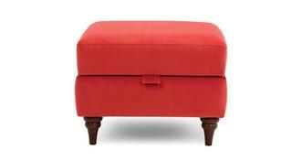 Patterdale Velvet Storage Footstool