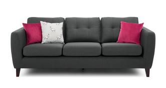 Pedro Plain 4 Seater Sofa