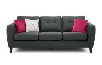 Plain 4 Seater Sofa Aston Plain