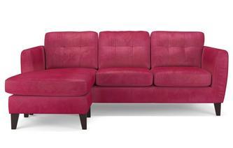 Velvet 4 Seater Lounger Sensual Velvet