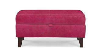 Pedro Velvet Storage Bench Stool