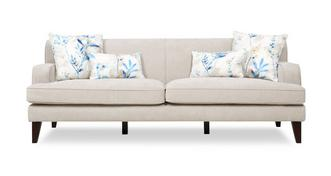 Penelope Plain 4 Seater Sofa