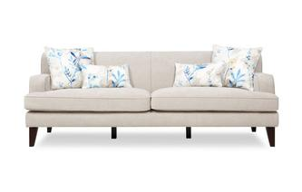 Plain 4 Seater Sofa Penelope