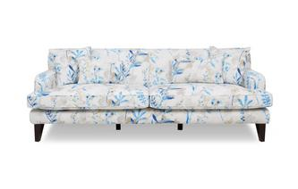 Floral 4 Seater Sofa