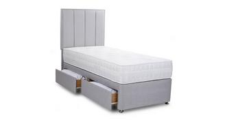 Peony Single 2 Drawer Bed
