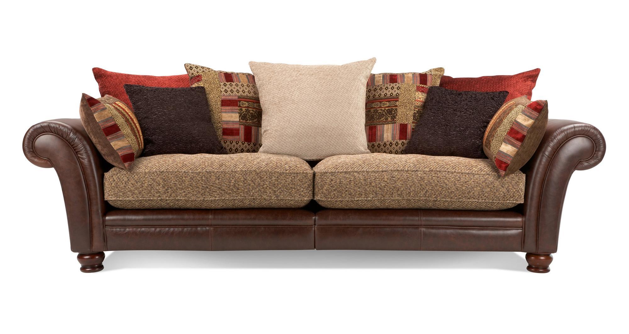 Peachy Dfs Perez Brown Fabric 4 Seater 2 Seater Armchair Bralicious Painted Fabric Chair Ideas Braliciousco