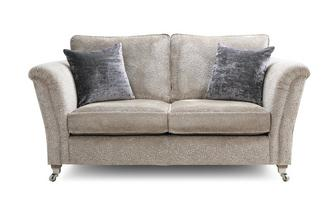 Textured Formal Back 2 Seater Sofa