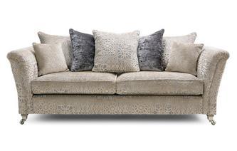 Jewel Pillow Back 4 Seater Sofa