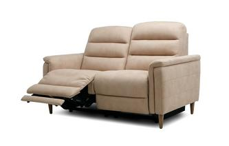 Fabric 2 Seater Power Recliner Prestige