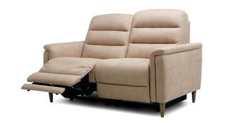 Pierre Fabric 2 Seater Power Plus Recliner
