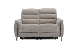 Fabric 2 Seater Power Plus Recliner