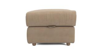 Pierre Fabric Storage Footstool