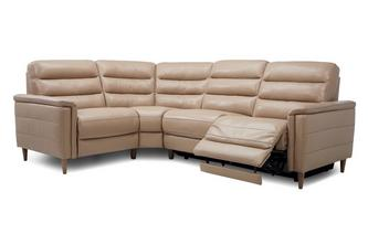 Option H Right Hand Facing 2 Corner 1 Power Recliner