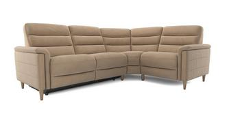Pierre Fabric Option E Left Hand Facing 2 Corner 1 Power Recliner