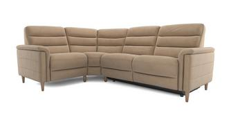 Pierre Fabric Option I Right Hand Facing 2 Corner 1 Power Plus Recliner
