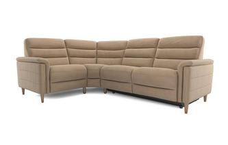 Fabric Option I Right Hand Facing 2 Corner 1 Power Plus Recliner Prestige