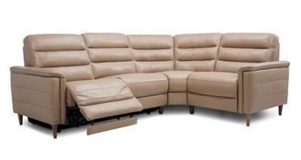Pierre Option F Left Hand Facing 2 Corner 1 Power Plus Recliner