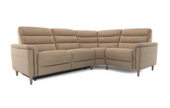 Fabric Option F Left Hand Facing 2 Corner 1 Power Plus Recliner Prestige