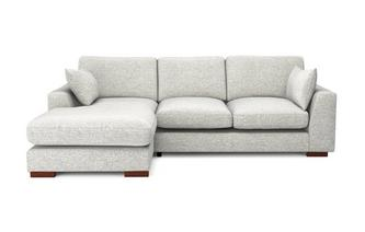 Formal Back Left Hand Facing Small Chaise End Sofa