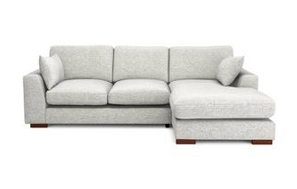 Formal Back Right Hand Facing Small Chaise End Sofa