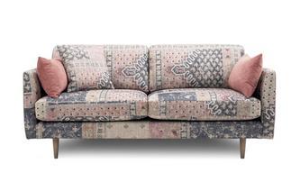 Pattern 3 Seater Sofa