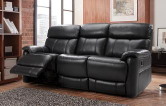 Pryme 3 Seater Manual Recliner Premium