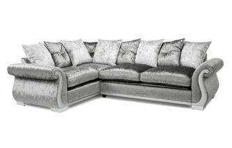 Pillow Back Right Hand Facing Arm 3 Seater Corner