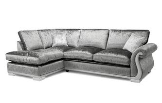 Formal Back Right Hand Facing Arm 3 Seater Open End Corner