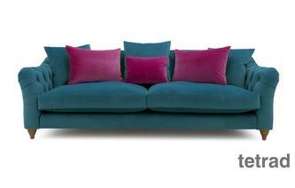 4 Seater Sofa Classic Velvet