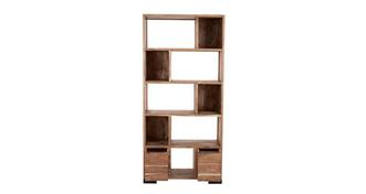 Reeve Shelf Unit 2 Drawers