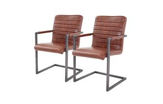 Set of 2 Cantilever Chairs