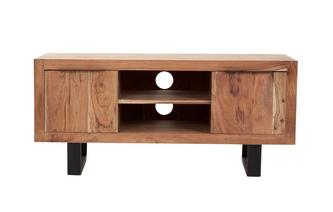 Reeve TV Unit 2 Doors 2 Shelves Reeve