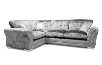 Formal Back Right Hand Facing Arm 3 Seater Corner Sofa
