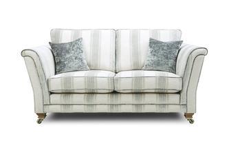 Stripe Formal Back 2 Seater Sofa