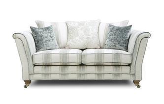 Stripe Pillow Back 2 Seater Sofa