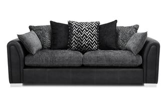Pillow Back 4 Seater Sofa