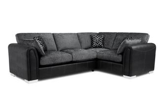 Formal Back Left Hand Facing 3 Seater Supreme Corner Sofa Bed