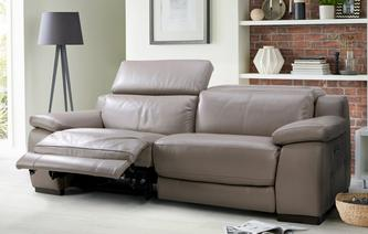 Riposo 3 Seater Power Recliner New Club