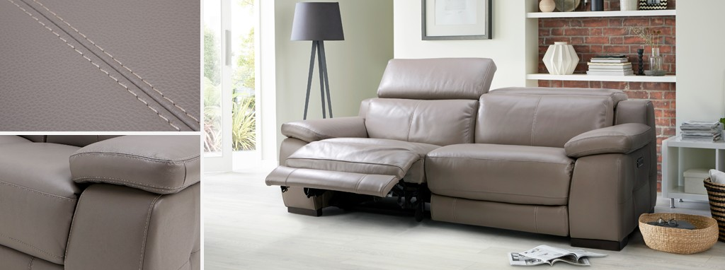 Pleasing Riposo 3 Seater Power Recliner Gmtry Best Dining Table And Chair Ideas Images Gmtryco