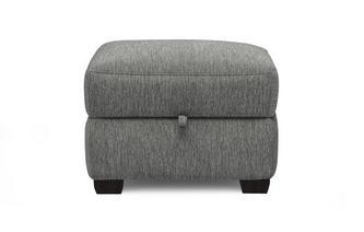 Storage Footstool (fresno fabric)