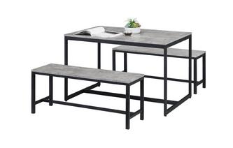 Fixed Top Table with 2 Benches Rondo