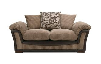 Pillow Back Small 2 Seater Sofa Inception